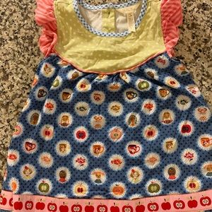 Matilda Jane apple tunic